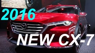 NEW 2016 Mazda CX-7? @ What will it be? @ Mazda concept Koeru