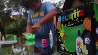 i9 Brinquedos - Kit Slime Neon - #EuQFiz