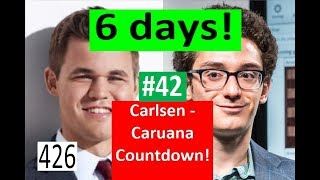6 days to Carlsen-Caruana! ¦ Anand: 'The Most Intense Match I've Ever Played!'