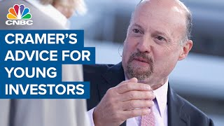 Jim Cramer's advice to young investors daytrading in speculative stocks