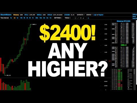 Bitcoin Price Technical Analysis - $2400! ANY HIGHER? (May 24th 2017)