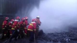 Kebakaran pabrik & ledakan besar di Jatake Satria Biru Pantang mundur !!! Mp3