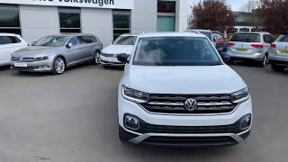 All New Volkswagen T-Cross FIRST EDITION 1.0Tsi @ Crewe VW