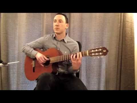 Pop & Rock Acoustic Classical Guitarist - Michael