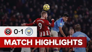 Sheffield United 0-1 Manchester City | Premier League highlights