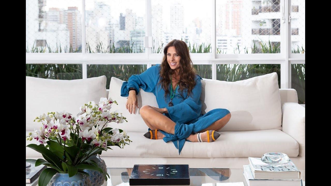 Um Tour Pelo Apartamento De Adriane Galisteu Casa Vogue