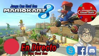 Mario Kart 8 Wii U Multiplayer con Suscriptores y Visitantes EN DIRECTO Parte # 065