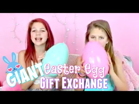 Giant Easter Surprise Egg Gift Exchange