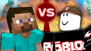 Minecraft vs Animation Roblox