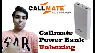 Callmate Power Bank Unboxing