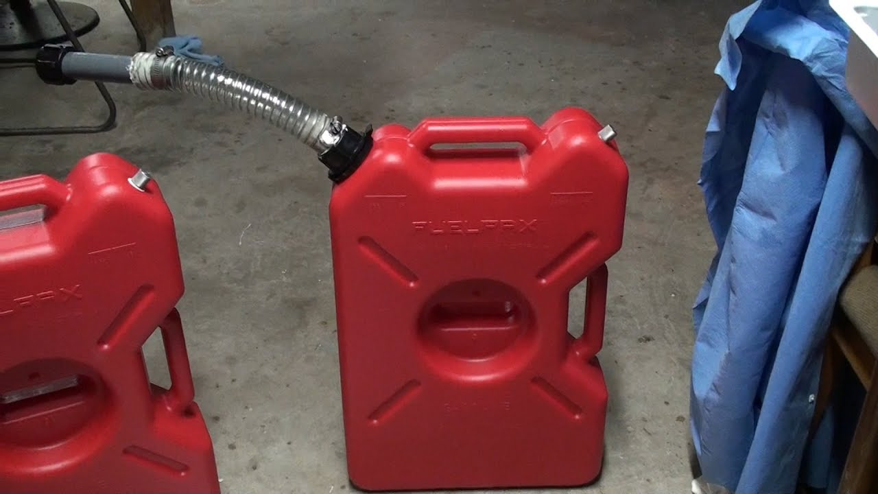 Gas Can Spout Amp Vent How To Diy Youtube
