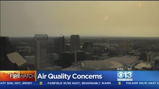 Air Quality Takes A Dive As Valley Skies Turn Ashy Gray