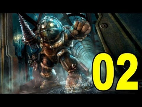 Bioshock - Part 2 - Big Daddy  Let\'s Play