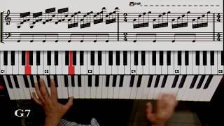 como tocar balada para adelina ballade pour adeline tutorial piano   teclado