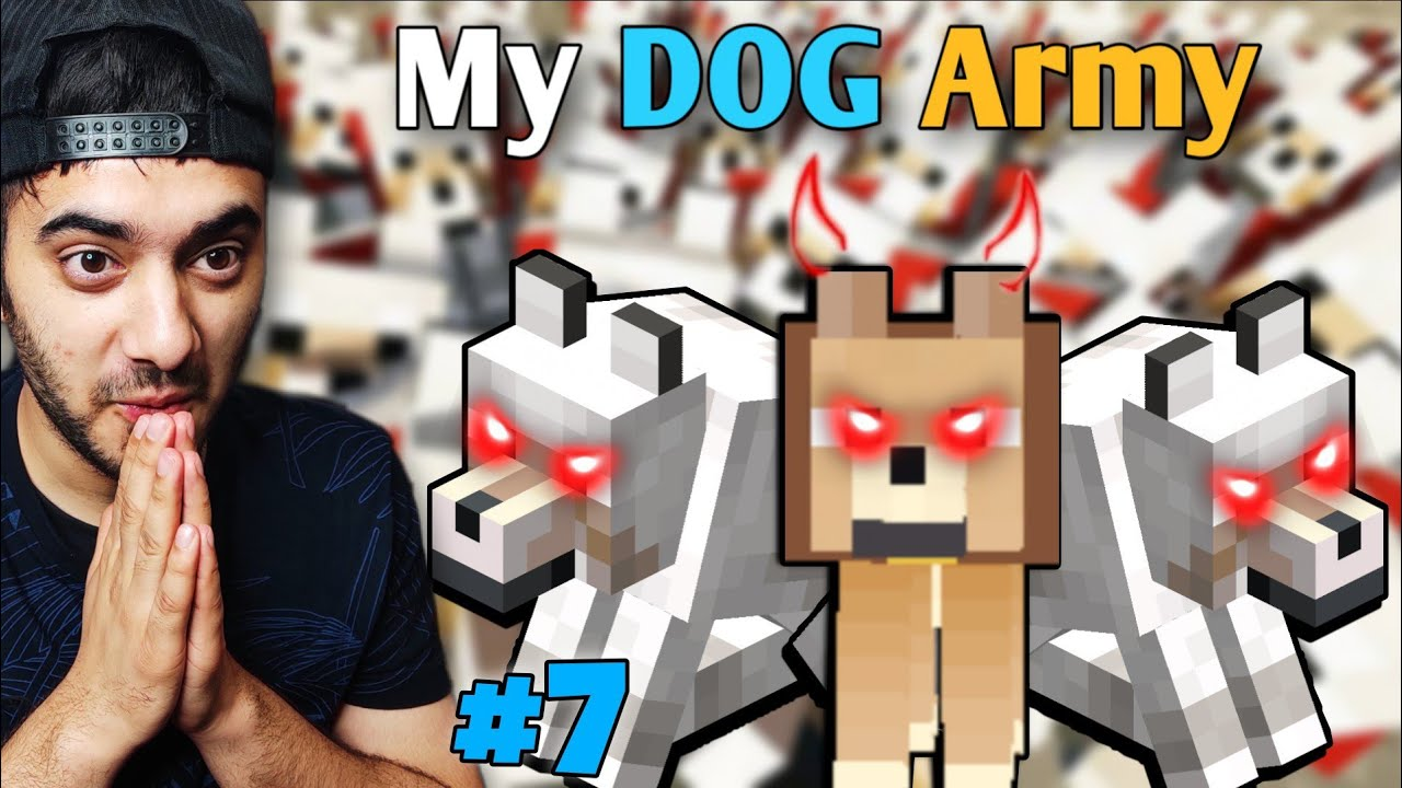 My Friends Took My Cat, So I Made a DOG Army [Birthday Special] | Minecraft Himlands [S-3 part 7]
