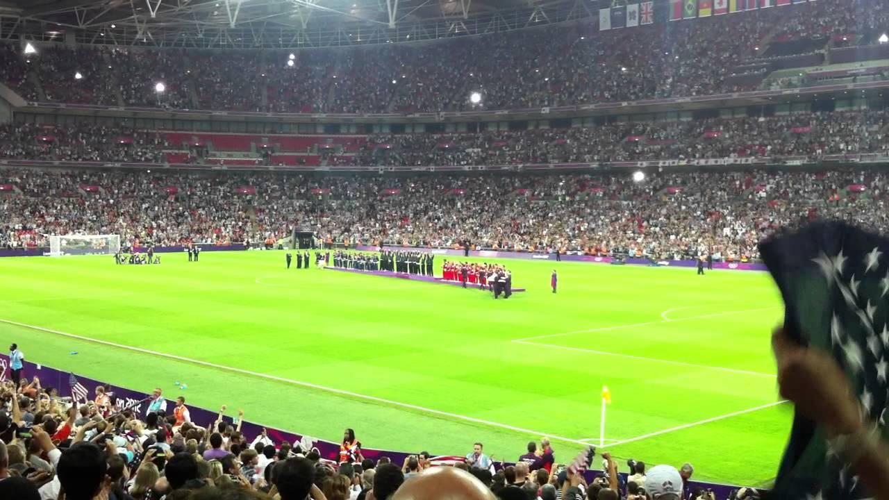 London 2012 USA Women's Football Olympic Champions - YouTube