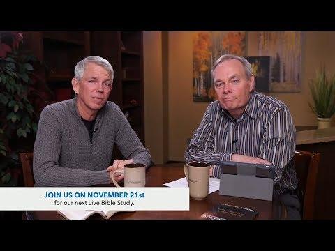 Andrew's Live Bible Study - Nov 14 2017