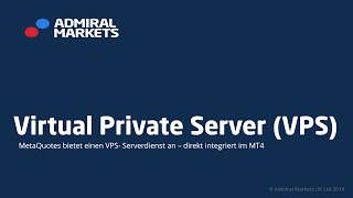 VPS: Virtual Private Server für den MetaTrader (Cloud Hosting)