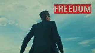 Unkle Adams - Freedom ft. JC Wylde (Official Music Video)
