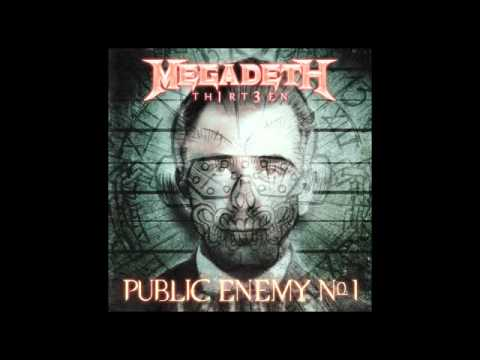 "Megadeth - ""Public Enemy No. 1"" - TH1RT3EN Thumbnail image"