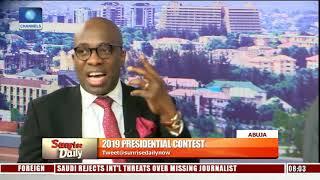 2019: Buhari, Atiku Campaign Spokespersons In Direct Criticism Of Flagbearers Pt.4 |Sunrise Daily|