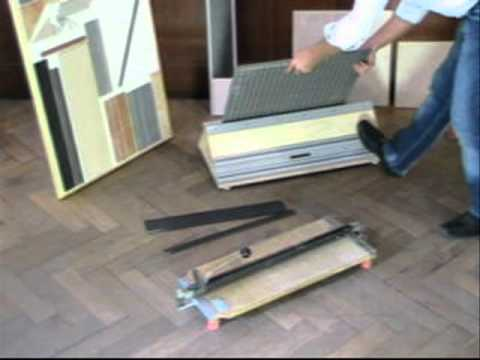 fliesen trenn profi 800er youtube. Black Bedroom Furniture Sets. Home Design Ideas