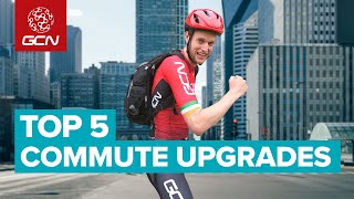Top 5 Upgrades For Commuting By Bike   Cycling To Work Hacks