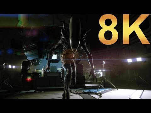 Alien Isolation 8K Ultra Settings Gameplay High Resolution PC Gaming 4K | 5K | 8K And Beyond