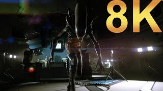 Alien Isolation 8K Ultra Settings Gameplay High Resolution PC Gaming 4K   5K   8K and Beyond