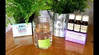DIY Liquid Soap from Bar Soap(Stays Liquid,Non-Slimy)