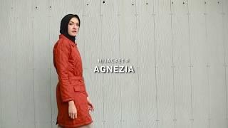 Jaket Bomber Wanita Waterproof Windbreaker Parasut Anti Air dan Angin untuk Motor Gunung - Hijab Hijaber Muslimah - Hijacket Agnezia