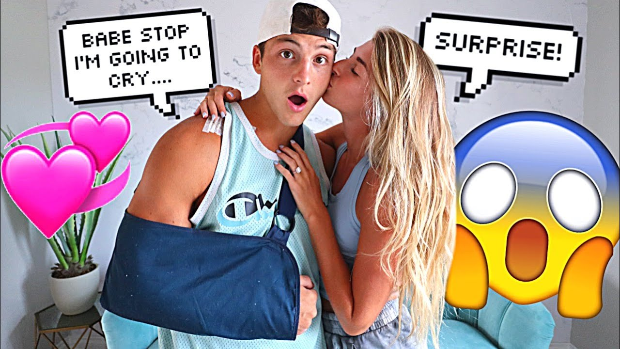 Surprising My Fiance After Surgery!