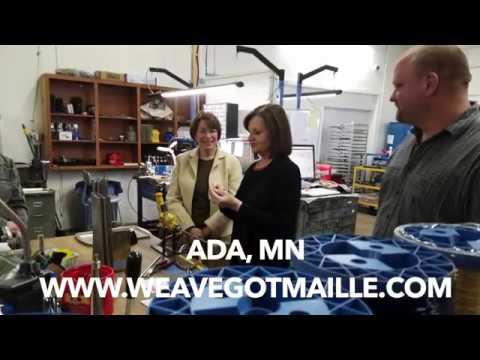 "MN. Senator Amy Klobuchar Visits Ada for ""Economy Tour'"