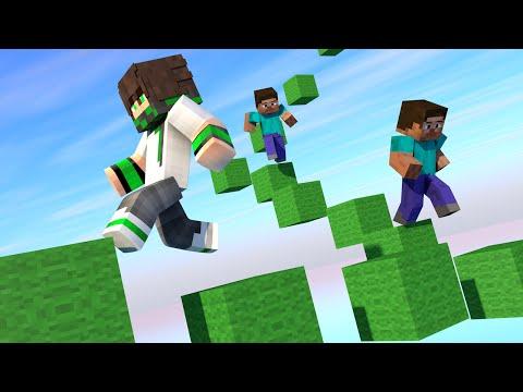 Minecraft Parkou Race Ep1:Lucas vs Pedro vs Nero c/Pedro e Nero