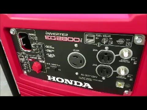 Honda Eg2800i Inverter Generator