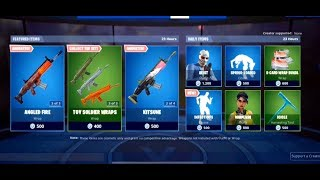 FORTNITE *NEW* INFECTIOUS EMOTE + PLASTIC PATROLLER SKINS & DUAL EDGE PICKAXE!