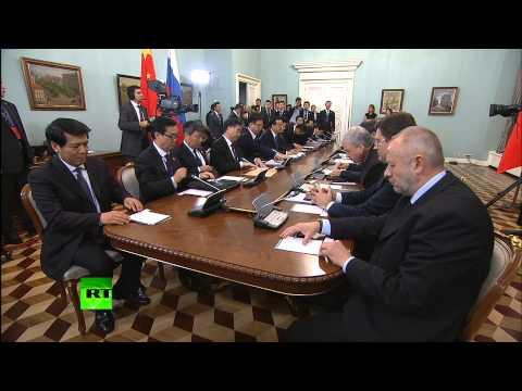 Дмитрий Медведев встретился с главой правительства КНР