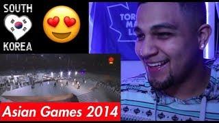 Download Intip Kembali, Kemeriahan Opening Ceremony Asian Games Korea 2014 Reaction