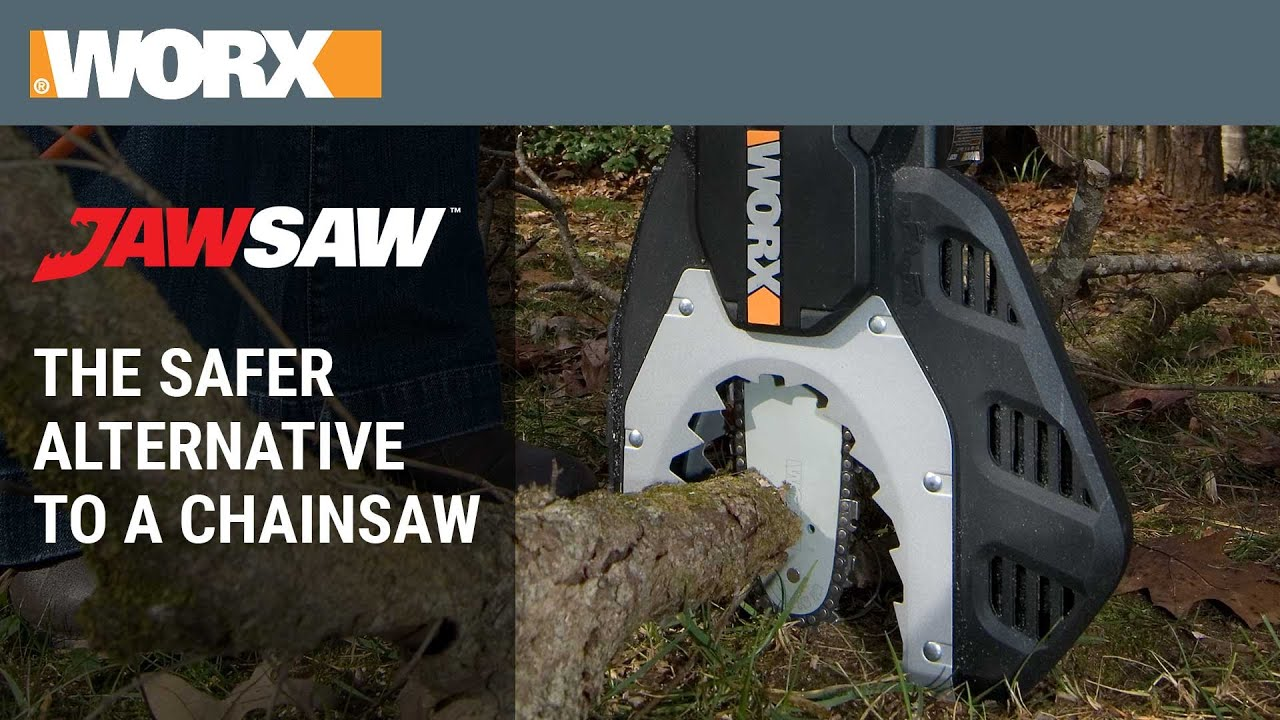 Worx Jawsaw The Safer Alternative To A Chainsaw Youtube