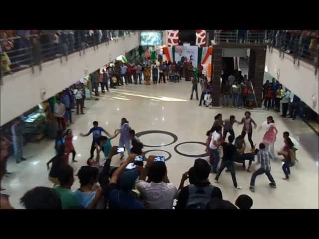 Flashmob 2k14 | CET Bhubaneswar | BMC Keshari mall | Republic day