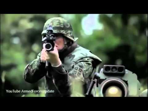 Serbian Military SERIOUS MESSAGE for US military and NATO leopard 2 tank 480p