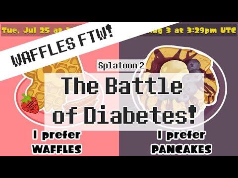 Team WAFFLES FTW Splatoon 2 Splatfest: Waffles v Pancakes - Battle of the Diabetes