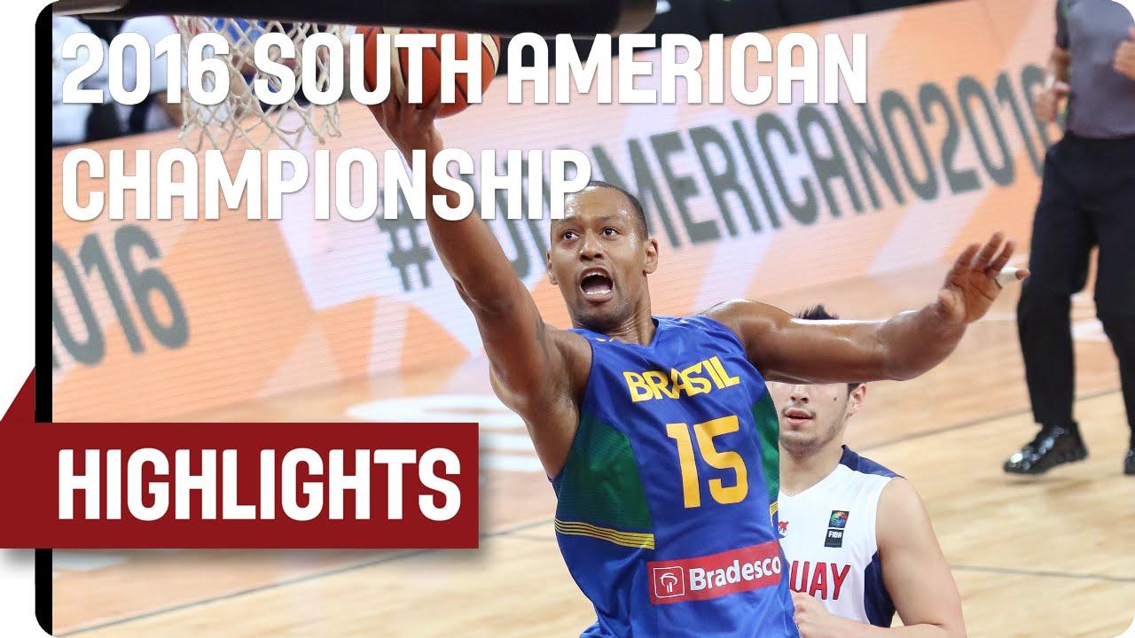 Paraguay (PAR) v Brazil (BRA) - Game Highlights - Group B - 2016 FIBA South American Championship