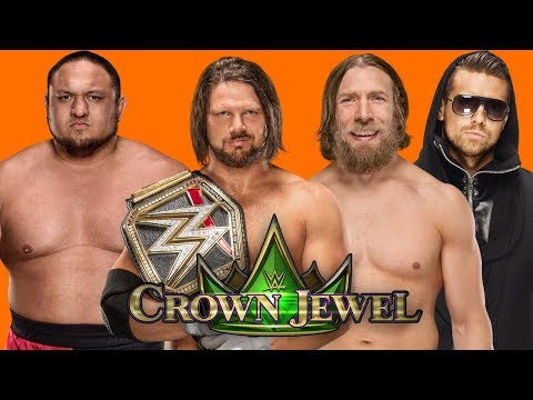 Rumored Match Card For WWE Crown Jewel