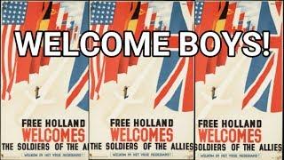 1945: Welcome boys! Amsterdam bevrijd en einde - oude filmbeelden