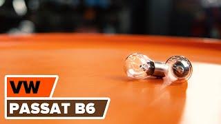 Jak vyměnit žárovky zadních světel na VW PASSAT B6 [NÁVOD]