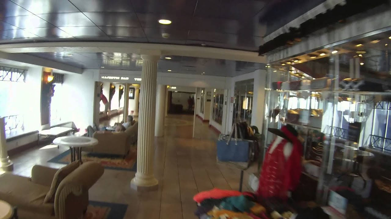 Walking tour of the Carnival Fantasy. - YouTube