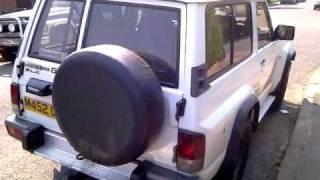 1995 Nissan Patrol y60 td42 4 2 diesel shorty swb 3 door for sale 4x4xfaz смотреть