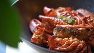 Cantonese Style Ginger & Scallion Lobster