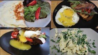 4 ПРОСТЫХ РЕЦЕПТА ИЗ ЯИЦ | Как приготовить яйца | Что приготовить на ЗАВТРАК?